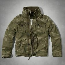 NWT * ABERCROMBIE & FITCH A & F Men's HOFFMAN MOUNTAIN JACKET Military CAMO ~ L