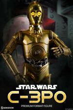 STAR WARS EPISODE IV~ANH~C-3PO~PROTOCOL DROID~PREMIUM FORMAT FIGURE~SIDESHOW~MIB