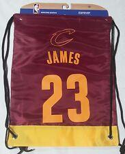 LeBron James #23 Cleveland Cavaliers Jersey Back Pack/Sack Drawstring gym Bag
