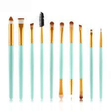 10pcs Makeup Brush Set Eyeliner Eyeshadow Brush Eyelash Brush Cosmetic Brushes