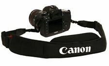 Canon 600X Light Weight Wide Padded Neck Strap Black for DSLR / SLR Camera