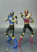 USED S.H.Figuarts Lightning Speed Gouraiger Set Figure Ninpu Sentai Hurricaneger