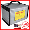 NEW Fireproof Explosionproof Lipo Safe Bag for Lipo Battery Storage and Charging