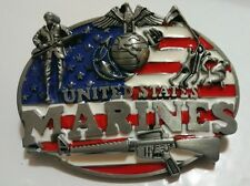 United States Marines Belt Buckle Great Designs & Quality Amazing New