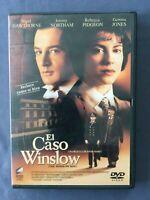 DVD EL CASO WINSLOW Nigel Hawthorne, Rebecca Pidgeon, Jeremy Northam DAVID MAMET