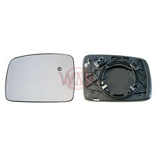 LAND ROVER RANGE ROVER SPORT 2005>09 DOOR MIRROR GLASS SILVER,HEATED & BASE,LEFT