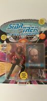 "Star Trek TNG Lieutenant WORF 4"" Figure New 1993 Playmates Unpunched Card"