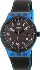 Swatch Men's Sistem51 SUTS402 Black Rubber Swiss Automatic Fashion Watch