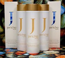 3  x JERICHO Original LADIES FOAMING FACIAL SCRUB New Packaging NO plastic balls