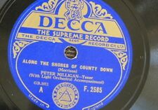 78rpm PETER MILLIGAN along the shores of county down / to you its only ireland