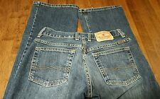VINTAGE LUCKY BRAND WOMENS FLARE DENIM JEANS MADE IN USA SZ 2/26 (27W ×30L) EUC