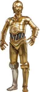 """NEW SIDESHOW 2171 STAR WARS Episode IV A New Hope C-3PO 1:6 Scale 12"""" Figure"""