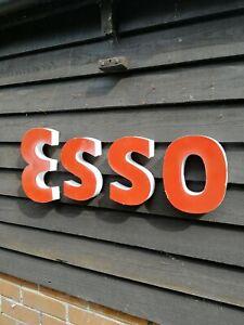 ESSO sign 3D metal letter set garage sign petrol station sign gas sign VAC265