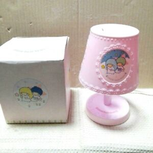 RARE Little Twin Stars Kiki Lala Stand Light 1976 Vintage relief Exclusive to JP