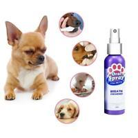 60Ml Pet Atemerfrischer Spray Hundezähne Reiniger Frischer Atem Mouthwash