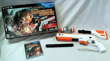 Cabela's Dangerous Hunts 2011 PS3 Playstation Game & Gun Top Shot Elite Rifle -A