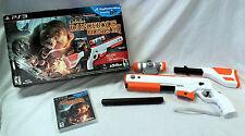 Cabela's Dangerous Hunts 2011 PS3 Playstation Game & Gun Top Shot Elite Rifle -A