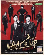 What's Up? - Korean Drama (TV Series) DVD Good English Sub Region 0 - Big Bang