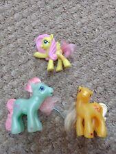 My Little Pony Lot-Minty, Butterscotch, & Fluttershy by Hasbro 2005 McDonald