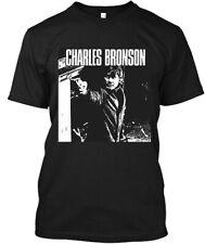 New Popular Charles Bronson American Actor Movie Film Vintage Logo T-Shirt S-3XL