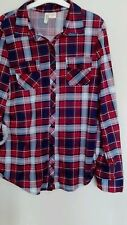 Women's Polyester Check Tops & Shirts ,no Multipack