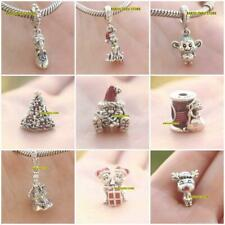 925 Sterling Silver Cinderella Magical Moment Cinderella Suzy Mouse Needle Charm