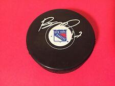 Ryan McDonagh Rangers Hockey Signed Auto Puck COA