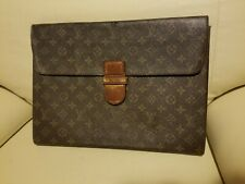Authentic pre ow Louis Vuitton Monogram Brief Document Case 9C210250L or Clutch