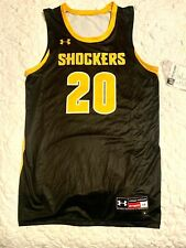 UNDER ARMOUR Wichita Shockers AF Showtime Basketball Jersey 1321936 Mens Size L