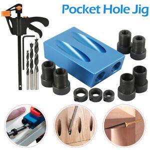 15x Bohrlehre Pocket Hole Locator Taschenloch Taschenlochlehre Bohrvorrichtung