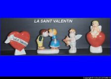 DVO543    SERIE COMPLETE  DE FEVES  LA SAINT VALENTIN   FEVES MEDIUM