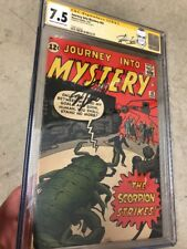 Journey into Mystery 82 83 Signature Series Signed By Stan Lee 2nd Highest CGC