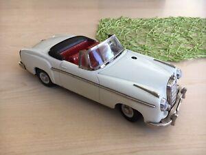 Schuco Control Car 5308 / Mercedes 220 S / Original 50er Jahre  / Blechspielzeug