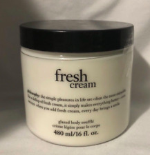PHILOSOPHY FRESH CREAM GLAZED BODY SOUFFLE 16 oz NWOB & SEALED!