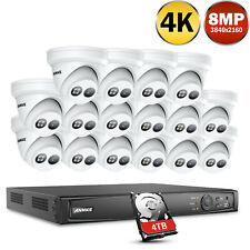 ANNKE 8MP 4K POE IP Überwachungskamera 8CH 16CH NVR Netzwerk Kameras Fernzugriff