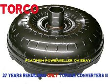 C6 High Stall 2200-2500 Ford Torque Converter 302 351 460ci HD w 1.375 pilot
