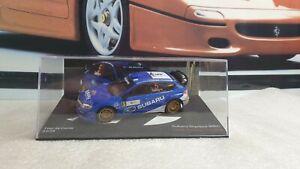IXO / ALTAYA - 2008 SUBARU IMPREZA WRC - 1/43 SCALE MODEL  RALLY TOUR DE CORSE