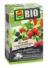 COMPO BIO Beeren Langzeit-Dünger für alle Beerenpflanzen, Kern- und Steinobst,