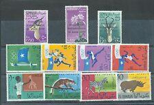 Somalia 1960 three MH sets sg.353-5, 360-7