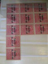 timbres Mondial   Roumanie Roumania Fiscals MNH  PC31-4952