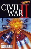 CIVIL WAR II #1 (OF 8) HOT WHEELS VARIANT - MARVEL - US-COMIC - A516