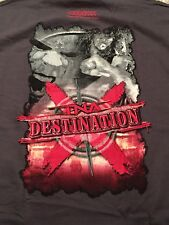 TNA Wrestling Destination X 2007 T-Shirt XL Sting Abyss WWE NXT