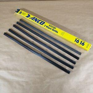 "Sunbeam Alpine Anco 16"" Windshield Wiper Blade Replacements Set of 5 NEW"