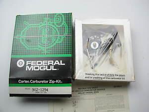 Chrysler Dodge Plymouth 1.7L 2.2L  Holley 6520 Carburetor Rebuild Repair Kit