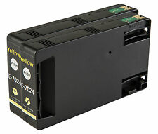 2 Yellow T7024 non-OEM Ink Cartridge For Epson Pro WP-4545DTWF WP-4595DNF
