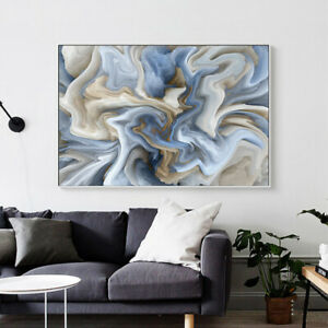 Modern Abstract Shape Canvas Art Poster Print Wall Art Painting Home Decoration