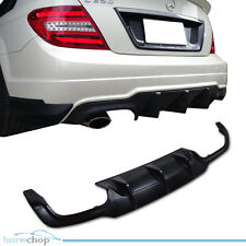 Mercedes Benz C204 Coupe Rear Diffuser ABS C250 C180 C63AMG 12-13