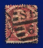 1870 SG51 1½d Rose-Red Plate 3 G6(1) TJ Misperf London Good Used Cat £75 cvxv