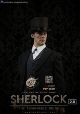 1/6 POPToys EX08 BBC Sherlock Holmes British Detective Victorian era Cumberbatch