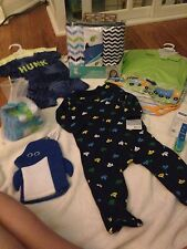 Beach Themed Tropical Baby Boy Gift Basket *Carters *Shower *Baby *Free Shipping